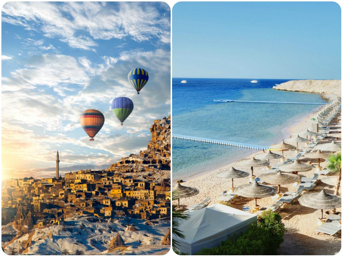 тур в турцию и египет