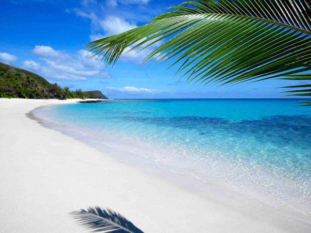 Tropical Beach, Yasawa Island Resort. Fiji
